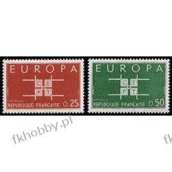 Francja 1963 Mi 1450-51 ** Europa Cept Pozostałe