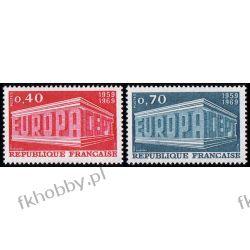 Francja 1969 Mi 1665-66 ** Europa Cept Sport