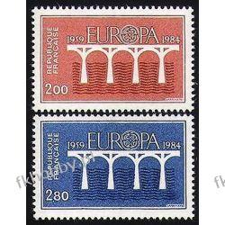 Francja 1984 Mi 2441-42 ** Europa Cept Most Pozostałe