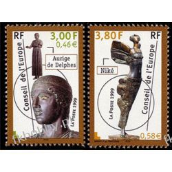 Francja 1999 Mi di 55-56 ** Europa Cept Europarat Kolekcje