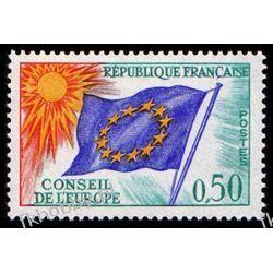 Francja 1971 Mi di 15 ** Europa Cept Europarat Flagi Kolekcje