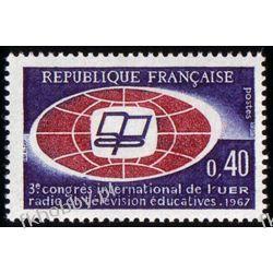Francja 1967 Mi 1573 ** Cept Europa Kongres Pozostałe