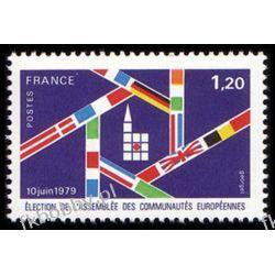 Francja 1979 Mi 2154 ** Cept Europa Flagi Kolekcje