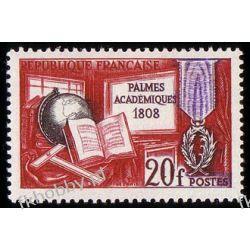 Francja 1959 Mi 1229 ** Akademia Kartografia Sport