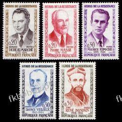 Francja 1960 Mi 1296-00 ** Osobistości Pozostałe
