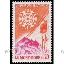 Francja 1961 Mi 1360 ** Góry Mont-Dore Polonica