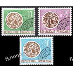 Francja 1964 Mi 1476-78 ** Monety