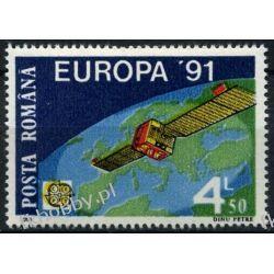 Rumunia 1991 Mi 4653 ** Europa Cept Kosmos Polonica