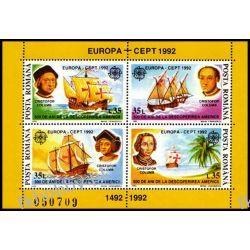 Rumunia 1992 Mi BL 271 ** Europa Cept Kolumb Statek Pozostałe