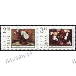 Rumunia 1975 Mi 3258-59 zd3 ** Cept INTEREUROPA Kwiaty Pozostałe