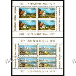 Rumunia 1977 Mi BL 141-142 ** Cept INTEREUROPA Polonica