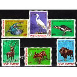 Rumunia 1980 Mi 3705-10 ** Cept Zwierzęta Ptaki Druk wklęsły