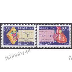Bułgaria 1994 Mi 4121-22 ** Europa Cept Medycyna Druk wklęsły
