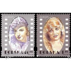 Polska 1996 Mi 3584-85 ** Europa Cept Pola Negri Flora