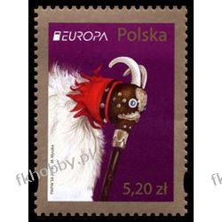 Polska 2014 Mi 4676 ** Europa Cept Folklor Muzyka Kobza Liechtenstein
