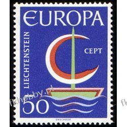 Liechtenstein 1966 Mi 469 ** Europa Cept Statek