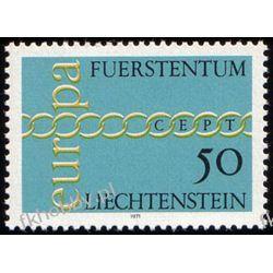 Liechtenstein 1971 Mi 545 ** Europa Cept  Pozostałe