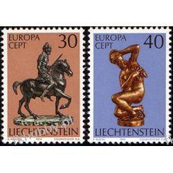 Liechtenstein 1974 Mi 600-01 ** Europa Cept  Malarstwo