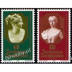 Liechtenstein 1980 Mi 741-42 ** Europa Cept Sztuka Pozostałe