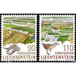 Liechtenstein 1999 Mi 1190-91 ** Europa Cept Natura Ptaki Pozostałe