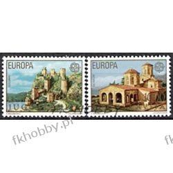 Jugosławia 1978 Mi 1725-26 ** Europa Cept Architektura Flora