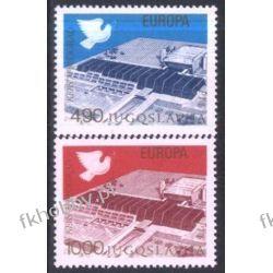 Jugosławia 1977 Mi 1699-00 ** Europa Cept Gołąb Malarstwo