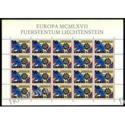 Liechtenstein 1967 Mi ark 474 ** Europa Cept  Pozostałe