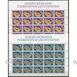 Liechtenstein 1973 Mi ark 579-80 ** Europa Cept  Flora