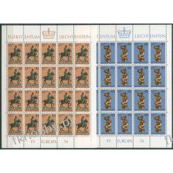 Liechtenstein 1974 Mi ark 600-01 ** Europa Cept  Pozostałe