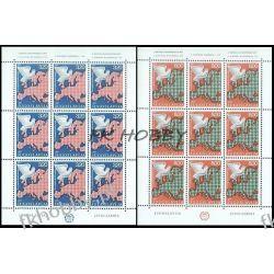 Jugosławia 1975 Mi ark 1585-86 ** Europa Cept Gołąb Ptaki