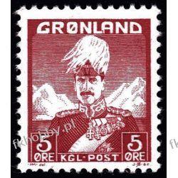 Grenlandia 1938 Mi 2 ** Król Chrystian X Marynistyka