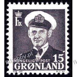 Grenlandia 1950 Mi 31 ** Król Fryderyk IX  San Marino