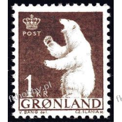 Grenlandia 1963 Mi 58 ** Czesław Słania Niedżwiedż