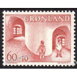 Grenlandia 1968 Mi 70 ** Czesław Słania Dzieci Liechtenstein