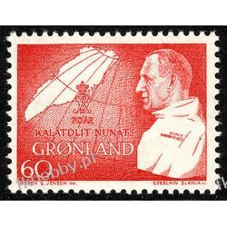 Grenlandia 1969 Mi 72 ** Czesław Słania Fryderyk IX Druk wklęsły