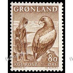 Grenlandia 1969 Mi 73 ** Czesław Słania Bajki Ptaki Druk wklęsły