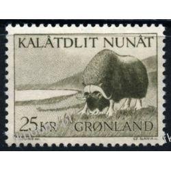 Grenlandia 1969 Mi 74 ** Czesław Słania Zwierzęta Ptaki