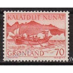 Grenlandia 1972 Mi 82 ** Czesław Słania Dokumenty