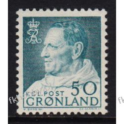Grenlandia 1963 Mi 56 ** Czesław Słania Fryderyk IX Pozostałe