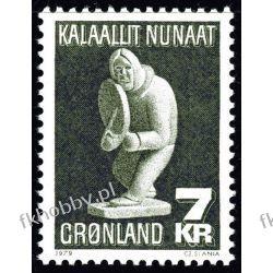 Grenlandia 1979 Mi 117 ** Czesław Słania Folklor Ptaki