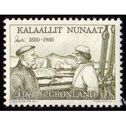 Grenlandia 1980 Mi 125 ** Ejnar Mikkelsen Statek Pozostałe
