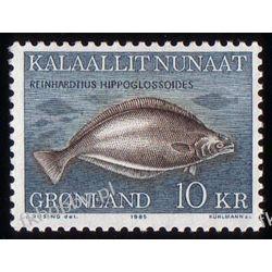 Grenlandia 1985 Mi 162 ** Ryby Ryby