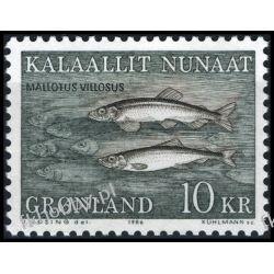 Grenlandia 1986 Mi 168 ** Ryby Ryby