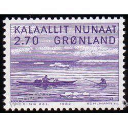 Grenlandia 1982 Mi 136 ** Danielsen Marynistyka Polonica