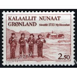 Grenlandia 1983 Mi 146 ** Folklor Muzyka Marynistyka