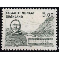 Grenlandia 1984 Mi 153 ** Henryk Lund Muzyka Pozostałe