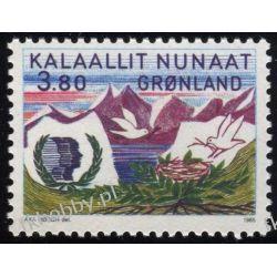 Grenlandia 1985 Mi 160 ** Ptaki Góry Ptaki
