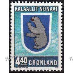 Grenlandia 1989 Mi 196 ** Autonomia Hebr Niedżwiedż Pozostałe