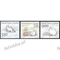 Grenlandia 1994 Mi 249-51 ** Zwierzęta Ssaki