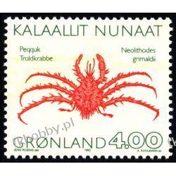 Grenlandia 1993 Mi 231 ** Zwierzęta Kraby Pozostałe